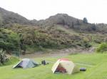 Zelten mit Ausblick