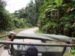 Fahrt im Jeep