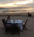 Dinner-Tisch bei Jimbaran