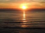 Sunset vom Single Fin aus